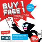 MBO Cinemas Promotion Buy 1 FREE 1 Movie Tickets on Every Tuesday!