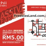 Nichii Kitschen Massive Warehouse Clearance Sale 2014 / 2015 Promotion Malaysia