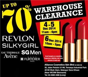 Revlon Silkygirl Avene Warehouse Sale