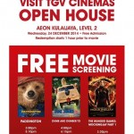 TGV Cinemas FREE Movie Screening + Popcorn + Drinks Giveaway!