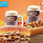 A&W Malaysia Outlet Burger Set at 50% Discount Promotion 2015