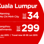 Air Asia Promotion 2015
