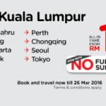AirAsia Promotion 2015 / 2016