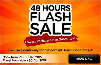 AirAsiaGo 48 Hours Flash Sale 2015