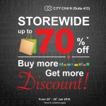 City Chain Malaysia Promotion 2015