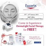 Eucerin FREE Dermalight Facial Therapy Giveaway