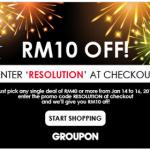 GROUPON Malaysia Promo Code