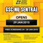 Golden Screen Cinemas (GSC) FREE Movie Passes Giveaway