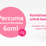 Lactacyd Revitalize FREE 60ml Giveaway
