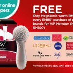Olay Megasonic Cleanser Device Giveaway for FREE!