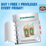 Starbucks Malaysia Promotion 2015 Buy 1 FREE 1 @ ALL Starbucks Stores
