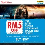 TGV IMAX Malaysia Movie Ticket Price at RM5 Discount!