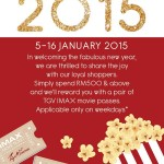 TGV IMAX Ticket Price Promotion FREE Movie Tickets Passes Giveaway
