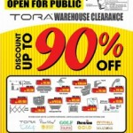 TORA Bathroom & Kitchen Expert Warehouse Sale 2015