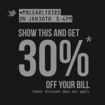 myBurgerLab Promotion Storewide 30% Discount!
