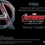 MBO Cinemas FREE Marvel's Avengers: Age of Ultron Keychain Giveaway