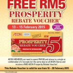 AEON FREE Voucher Giveaway