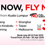 AirAsia Online Booking Promotion