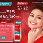 Colgate Optic White Toothpaste FREE 40g Sample Giveaway!