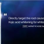 INFINITY KOSÉ Realising White Stick XX Giveaway