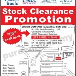 Pureen Stock Clearance Promotion 2015
