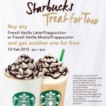 Starbucks French Vanilla Mocha & Frappuccino Buy 1 FREE 1 Promotion