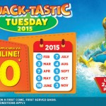 Sunway Lagoon ALL Parks Entrance Ticket for only RM40!