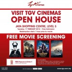 TGV Cinemas Jaya Shopping Center FREE Movie Screening Promotion