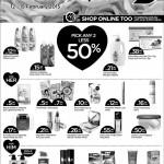 Watsons Malaysia Promotion Pick Any Two Less 50%!