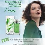 Yves Rocher FREE L'Eau Moment de Bonheur EDT Perfume Samples