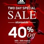Adidas Storewide 40% Discount!