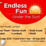 Air Asia Fly to Surat Thani, Banda Aceh, Gold Coast, Phuket, Lombok, Perth from only RM69!