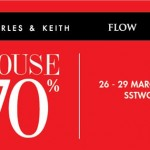 Charles & Keith, Victoria's Secret, Pedro, Flow Warehouse Sale