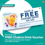 FREE Chatime Drink Voucher Giveaway