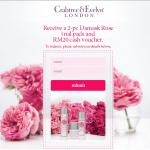 Crabtree & Evelyn Damask Rose FREE Samples Giveaway