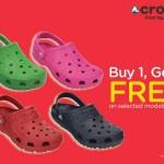 Crocs Malaysia Promo: Buy 1 FREE 1 Promotion!