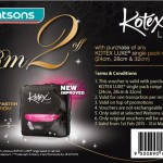 Kotex FREE Sample & Discount Voucher Giveaway