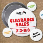 Mac City Outlet Clearance Sale Promotion 2015