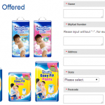 MamyPoko Free Diaper Sample Giveaway