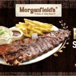 Morganfield's Buy 1 FREE 1/2 Promotion