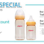 Pigeon Bottle Promotion: Enjoy 50% Discount!