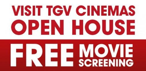 TGV Cinemas FREE Movie Screening Promotion!