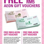 AEON Member Day: FREE Gift Vouchers Giveaway