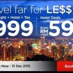 AirAsiaGo: 5D4N Flight + Hotel + Tax to Sydney, Seoul, Osaka, Beijing, Shanghai, Gold Coast from only RM999!