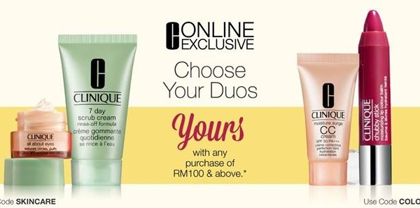 Clinique Malaysia Freebies Giveaway