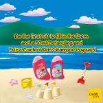 Carrie Junior Detangling and Frizz Control Kids Shampoo FREE Sample Giveaway