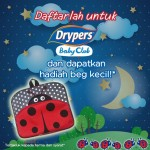 Drypers Malaysia Promotion: FREE Toddler Bag Giveaway