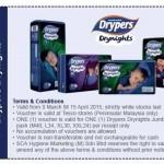Drypers Discount Voucher Giveaway!