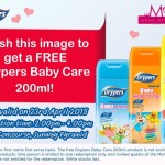 Drypers Baby Care FREE Product Giveaway