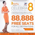 FireFly FREE Seats Promotion for ALL Destinations 2015 / 2016